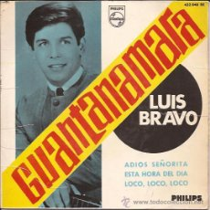 Discos de vinilo: EP-LUIS BRAVO-PHILIPS 452048-ED.ESPAÑOLA-1965. Lote 26045912
