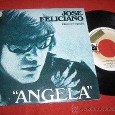"""Discos de vinilo: JOSE FELICIANO ANGELA/WILLFUL STRUT 7"""" SINGLE 1976 PRIVATE STOCK PROMO. Lote 26046578"""