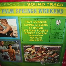 Discos de vinilo: LP-PALM SPRINGS WEEKEND-WB 1519-ED.ESPAÑOLA-1964. Lote 26047023