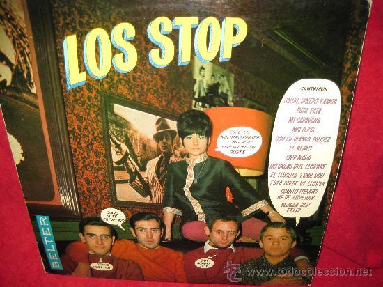 LP-LOS STOP-BELTER 22199 (Música - Discos - LP Vinilo - Grupos Españoles 50 y 60)