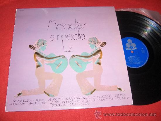 GRAN ORQUESTA TIPICA ARMANDO ZULUETA MELODIAS A MEDIA LUZ LP 1970 TREBOL (Música - Discos - LP Vinilo - Grupos Españoles de los 70 y 80)
