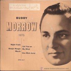 Discos de vinilo: EP-BUDDY MORROW-RCA 417-USA. Lote 26064001