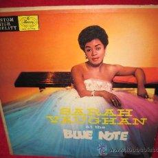Discos de vinilo: LP-SARAH VAUGHAN-AT THE BLUE NOTE-MERCURY 20094-ORIG.USA. Lote 26064332
