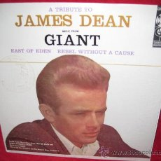Discos de vinilo: LP-A TRIBUTE TO JAMES DEAN-RAY HENDORF ORCH.-COLUMBIA SPECIAL 940-USA. Lote 26064427