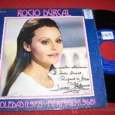 """Discos de vinilo: ROCIO DURCAL SOLEDAD/MI AMIGO 7"""" SINGLE 1972 PHILIPS. Lote 26068493"""