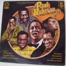 Discos de vinilo: LP DE PAUL ROBESON EDIC. INGLATERRA.. Lote 27574073
