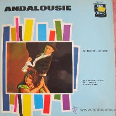 Discos de vinil: LP - ANDALOUSIE - RUDY HIRIGOYEN AND JANINE RIBOT - EDICION BELGA, EMI REGAL SIN FECHA. Lote 26080024