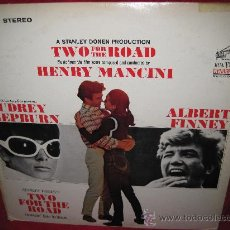 Discos de vinilo: LP-HENRY MANCINI-TWO FOR THE ROAD-RCA 3802-STEREO-ORIG.USA. Lote 26081590
