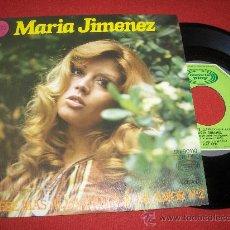 Discos de vinilo: MARIA JIMENEZ EN ESE MAS ALLA/CANCION DE AMOR Nº2 7