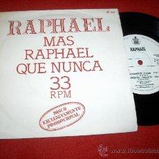 """Discos de vinil: RAPHAEL TU NOMBRE ME LO CALLO/PREGUNTAS PREGUNTAS/LA NOCHE MAS LINDA DEL MUNDO/SOLO 7"""" EP 1978. Lote 27483095"""