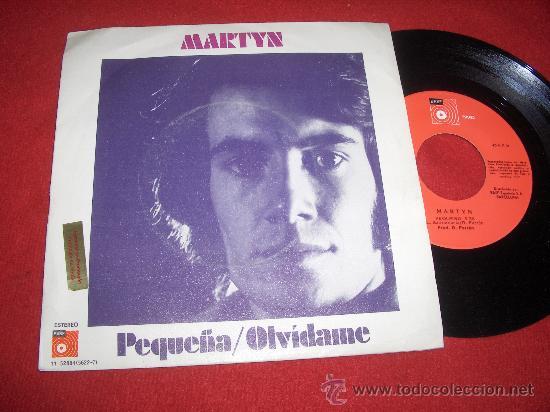 """MARTYN OLVIDAME/PEQUEÑA 7"""" SINGLE 1975 BASF PROMO RAMON FARRAN (Música - Discos - Singles Vinilo - Solistas Españoles de los 70 a la actualidad)"""