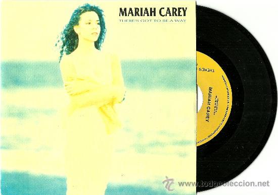 MARIAH CAREY. THERE'S GOT TO BE A WAY (PROMO VINILO SINGLE 1990) (Música - Discos - Singles Vinilo - Jazz, Jazz-Rock, Blues y R&B)