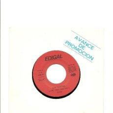 Discos de vinilo: LOS SUAVES. DAME ROCK AND ROLL (PROMO VINILO SINGLE 1991). Lote 26091183