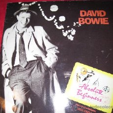 Discos de vinilo: LP-MAXI SINGLE-DAVID BOWIE-ABSOLUTE BEGINNERS-VIRGIN-1986. Lote 26106934