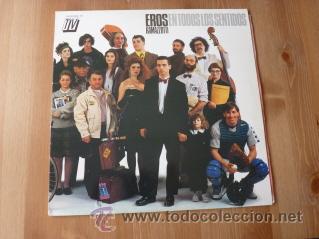 EROS RAMAZZOTTI. EN TODOS LOS SENTIDOS. 1990 (Música - Discos - LP Vinilo - Pop - Rock Extranjero de los 90 a la actualidad)