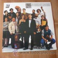 Discos de vinilo: EROS RAMAZZOTTI. EN TODOS LOS SENTIDOS. 1990. Lote 26175179