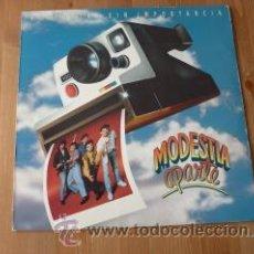 Discos de vinilo: MODESTIA APARTE. HISTORIAS SIN IMPORTANCIA. 1991. Lote 26175329