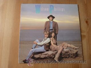 WILSON PHILLIPS. WILSON PHILLIPS. 1990. (Música - Discos - LP Vinilo - Pop - Rock Extranjero de los 90 a la actualidad)