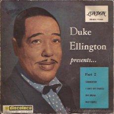 Disques de vinyle: EP-DUKE ELLINGTON-LONDON 71285-ED.ESPAÑOLA-JAZZ. Lote 26129273