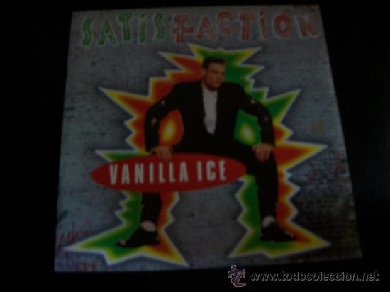 EP VANILLA ICE - SATISFACTION (Música - Discos de Vinilo - EPs - Rap / Hip Hop	)