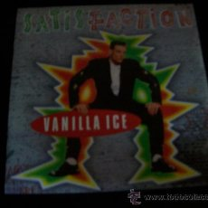 Discos de vinilo: EP VANILLA ICE - SATISFACTION. Lote 26159882