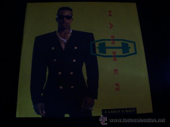EP MC HAMMER. 2 LEGIT 2 QUIT (Música - Discos de Vinilo - EPs - Rap / Hip Hop)