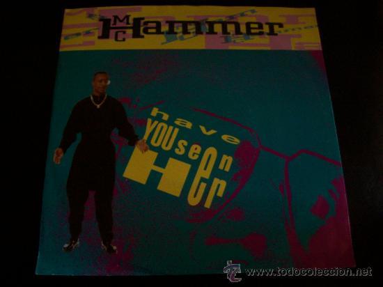 EP MC HAMMER. HAVE YOU SEEN HER. (Música - Discos de Vinilo - EPs - Rap / Hip Hop)
