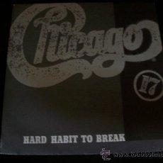 Discos de vinilo: EP CHICAGO. HARD HABIT TO BREAK. Lote 26160293
