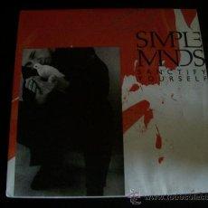 Discos de vinilo: EP SIMPLE MINDS. SANCTIFY YOURSELF.. Lote 26160315
