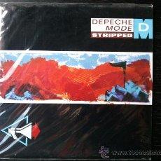 Discos de vinilo: DEPECHE MODE - STRIPPED - SINGLE VINILO 7. Lote 251671415
