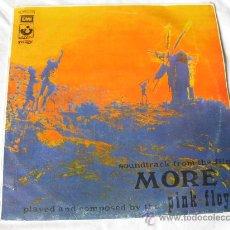 Discos de vinilo: PINK FLOYD - BANDA SONORA DE LA PELICULA MORE - 1974. Lote 26203740