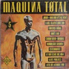 Discos de vinilo: MAQUINA TOTAL 5 (2 LP) 1993 - TONI PERET & JOSE M. CASTELLS - ( 2 DISCOS). Lote 26224253
