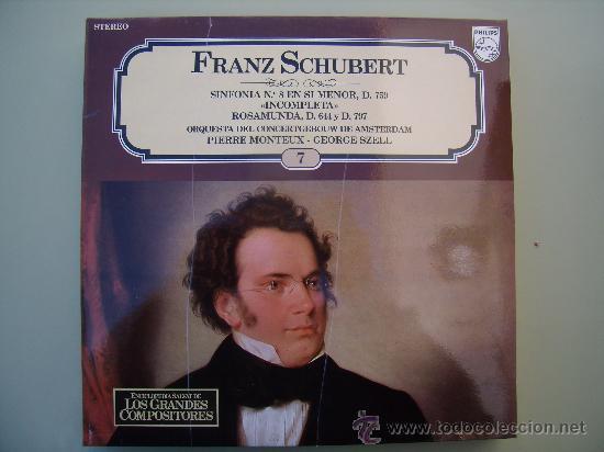 Discos de vinilo: FRANZ SCHUBERT - SINFONIA Nº 8 EN SI MENOR - Foto 1 - 26057897