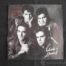 Discos de vinilo: LP VALVERDE Y ALUCINA - GRUPO CANARIO. Lote 26238623