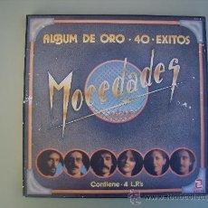 Discos de vinilo: MOCEDADES - ALBUM DE ORO - 4 DISCOS - 1982. Lote 26252141