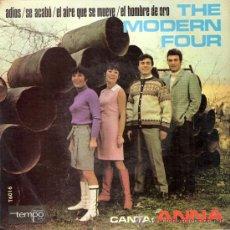 Discos de vinilo: THE MODERN FOUR - ADIOS + 3 (EP DE 4 CANCIONES) TEMPO 1967 - EX/EX. Lote 26254539