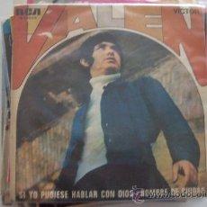 Discos de vinilo: VALEN - SI YO PUDIESE HABLA CON DIOS-HOMBRE DE CIUDAD. Lote 26257252