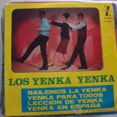 Discos de vinilo: LOS YENKA YENKA - RARO EP 1965. Lote 26257642