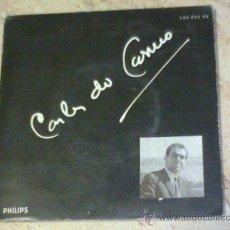 Discos de vinilo: EP- CARLOS DO CARMO-A RUA DO DESENCANTO-CARPETA TRIPLE-. Lote 26261369