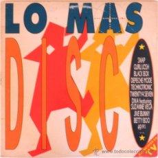 Discos de vinilo: LO MAS DISCO (2 LP) 1990 - DISCO DANCE - 2 DISCOS -. Lote 26262569