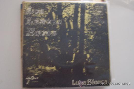 LOS LENTES ROJOS - LUNA BLANCA SG BELGA GRUPO ESPAÑOL RARO! (Música - Discos de Vinilo - Maxi Singles - Grupos Españoles 50 y 60)