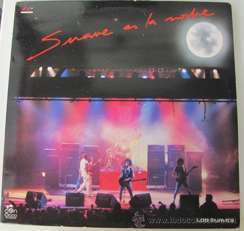 LOS SUAVES - SUAVE ES LA NOCHE - DOBLE LP VINILO EDIGAL 1989 (Música - Discos - LP Vinilo - Grupos Españoles de los 70 y 80)
