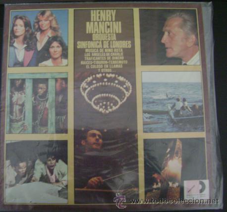 HENRY MANCINI - ORQUESTA SINFONICA DE LONDRES LP (Música - Discos - LP Vinilo - Bandas Sonoras y Música de Actores )