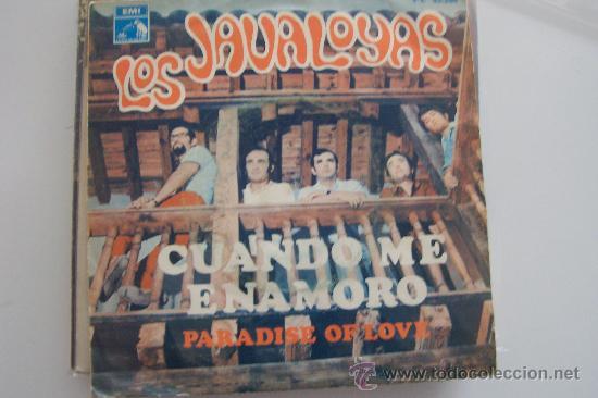 LOS JAVALOYAS - CUANDO ME ENAMORO SG 1968 (Música - Discos - Singles Vinilo - Grupos Españoles 50 y 60)
