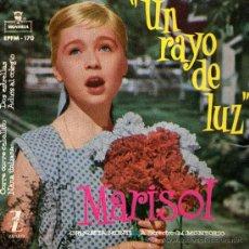 Discos de vinilo: MARISOL - EP SINGLE VINILO 7 - EDITADO ESPAÑA - CORRE, CORRE CABALLITO + 3 - MONTILLA 1960. Lote 26277424