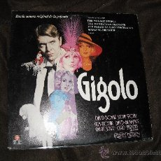 Disques de vinyle: GIGOLO LP BANDA SONORA ORIGINAL BOWIE..NOVAK..DIETRICH.. ARIOLA SPA 1980. Lote 26277620
