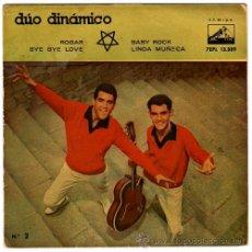 Discos de vinil: DÚO DINÁMICO – ROGAR - EP SPAIN 1959 – LA VOZ DE SU AMO 7EPL 13389. Lote 26284320