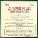 Discos de vinilo: ELS BLAUETS DE LLUC EP 1974 INGÉS Y LATÍN VER TÍTULOS. Lote 26293210