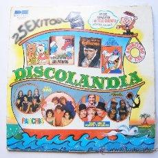 Discos de vinilo: PARCHIS, DISCOLANDIA, BELTER. Lote 26344291