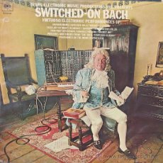 Discos de vinilo: SWITCHED-ON BACHLWALTER CARLOSCBS1970. Lote 26330781